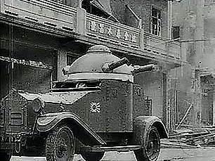 Segunda Guerra Mundial: invasión japonesa de Shanghai