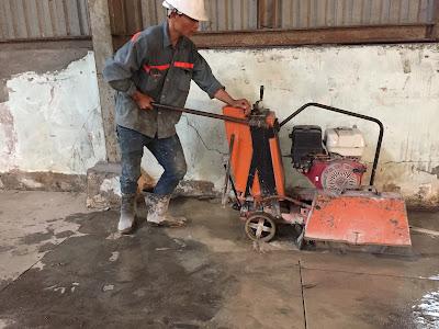 Khoan cắt bê tông tại huyện Châu Thành, Sóc Trăng