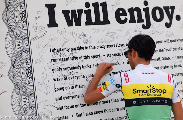 Daniel Oss BMC bike race