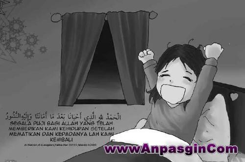 Doa Sebelum Tidur dan Doa Sesudah Bangun Tidur Lengkap Terjemahan