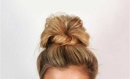 Life Patterns Hairstyle Messy Updo For Long Hair Step By Step