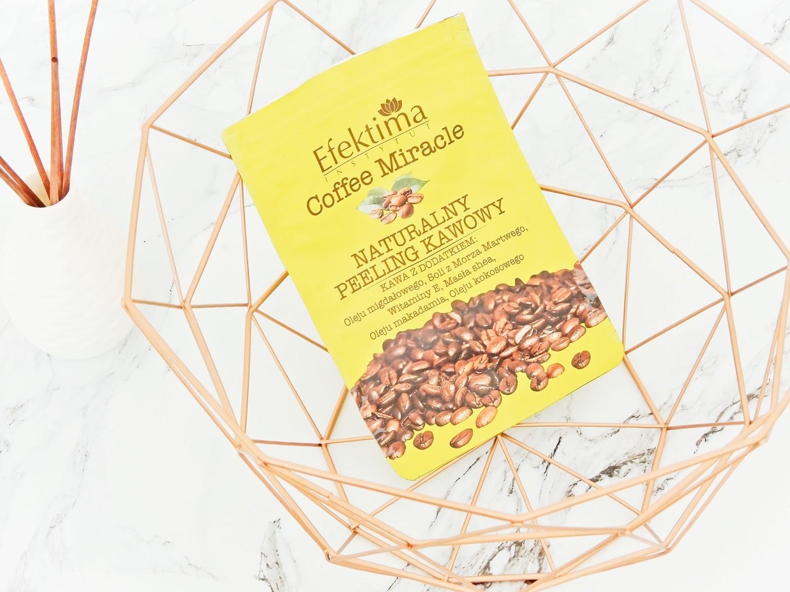 Efektima Coffee Miracl  naturalny peeling kawowy,
