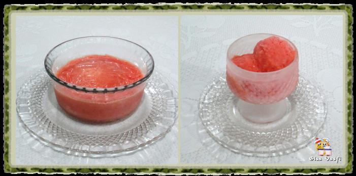 Frozen iogurte de pêssego 1
