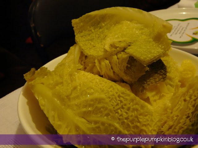 how to cut cabbage into squares