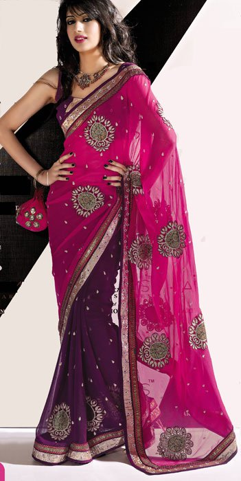 Party Wear Sarees For Girls Online Fashion World World