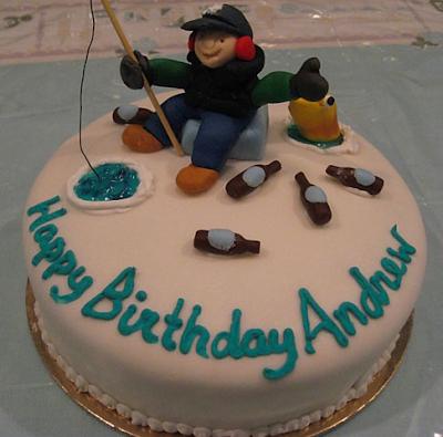 Fishing Birthday Cakes 2016