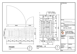 Gate gerbang Cluster  perumahan