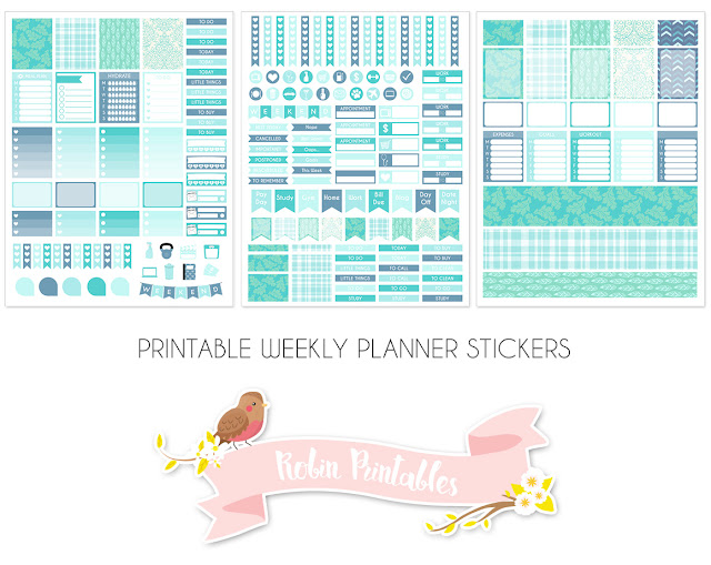 picture about Printable Life Planner named Absolutely free Printable Planner Stickers Weekly Package for Erin Condren