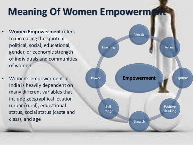 meaning of empowerment Psychological empowerment: definition, measurement, and validation sanjay t menon, clarkson university abstract psychological empowerment was defined from the per.