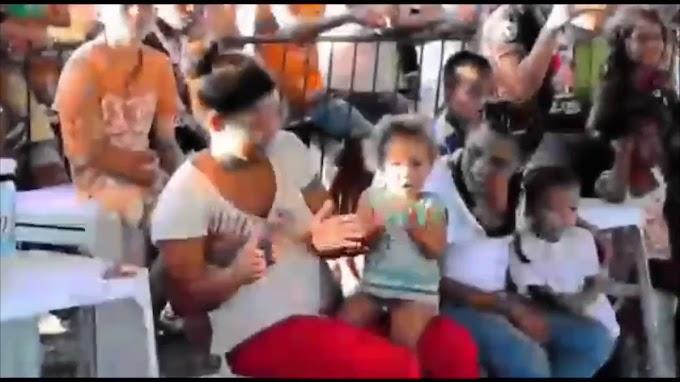 Banda do Exército anima venezuelanos que fugiram para o Brasil