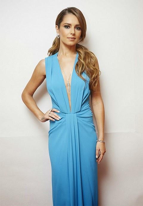 Cheryl Fernandez-Versini Turquoise Thakoon dress   Live Shows Week 7   Dupe