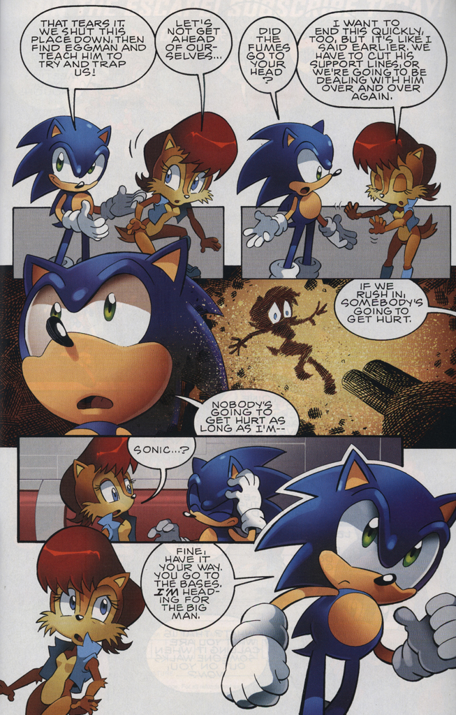 Read online Sonic The Hedgehog comic -  Issue #228 - 23