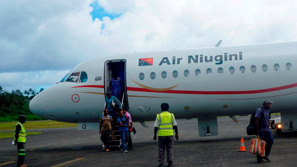 Air Niugini Resumes Jet Operations to Aropa Airport - Papua New