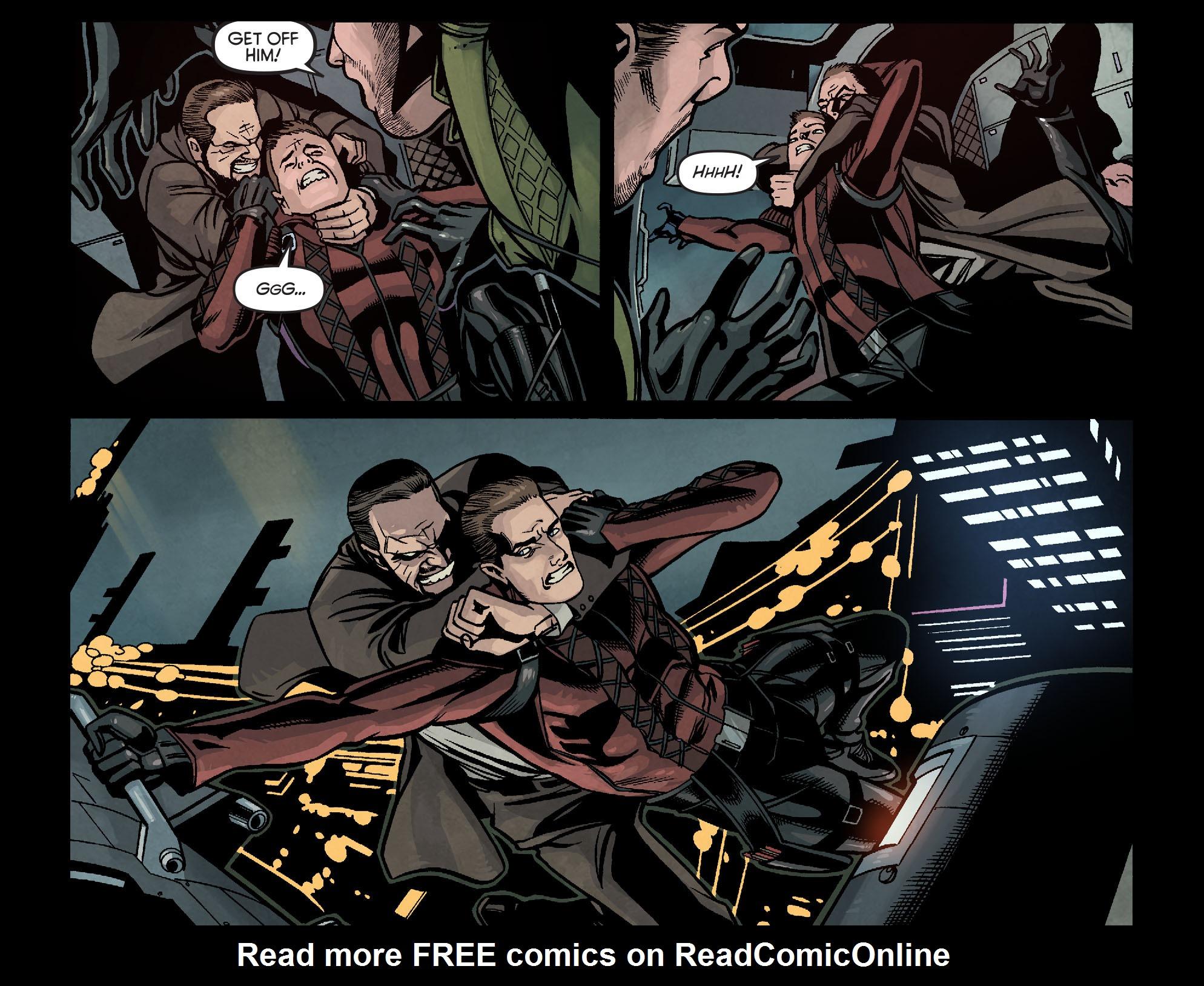 Read online Arrow: Season 2.5 [I] comic -  Issue #16 - 12