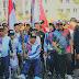 Sorak-Serak Pawai Obor Asian Para Games 2018 di Medan