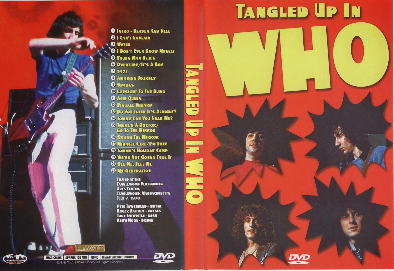 T U B E The Who 1970 07 07 Tanglewood Ma Dvdfull