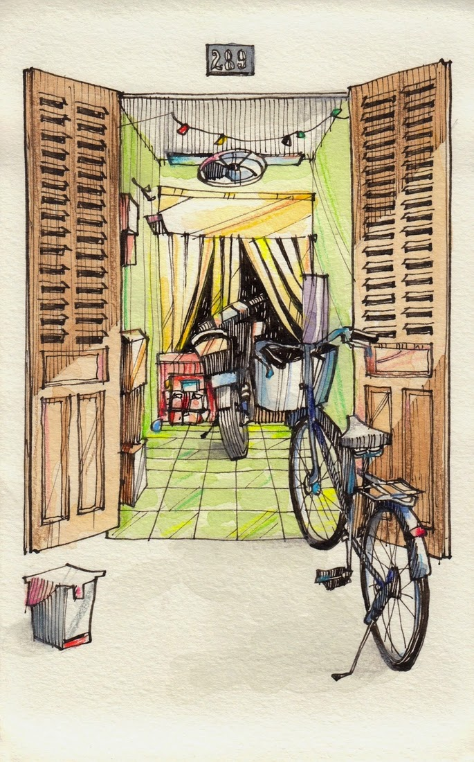 12-houses-open-to-the-street-Jorge-Royan-Drawings-Sketches-of-Travel-Logs-www-designstack-co
