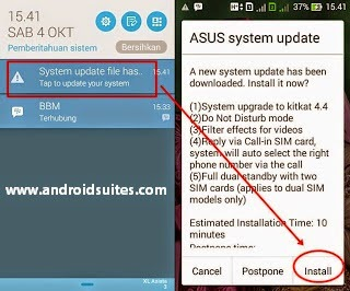 Обновление прошивки Asus Zenfone 5