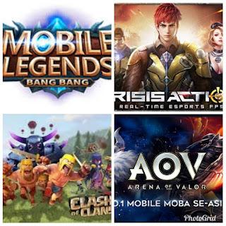 4 Game Online Android yang selalu Diminati kaum muda