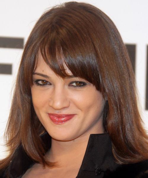 Best Medium Hairstyles With Bangs 2013 Medium Hairstyles