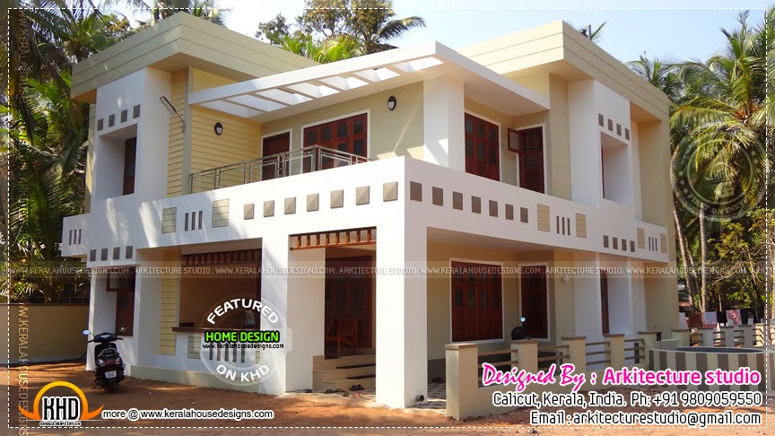 finished house in kerala - First Floor Home Design Hd