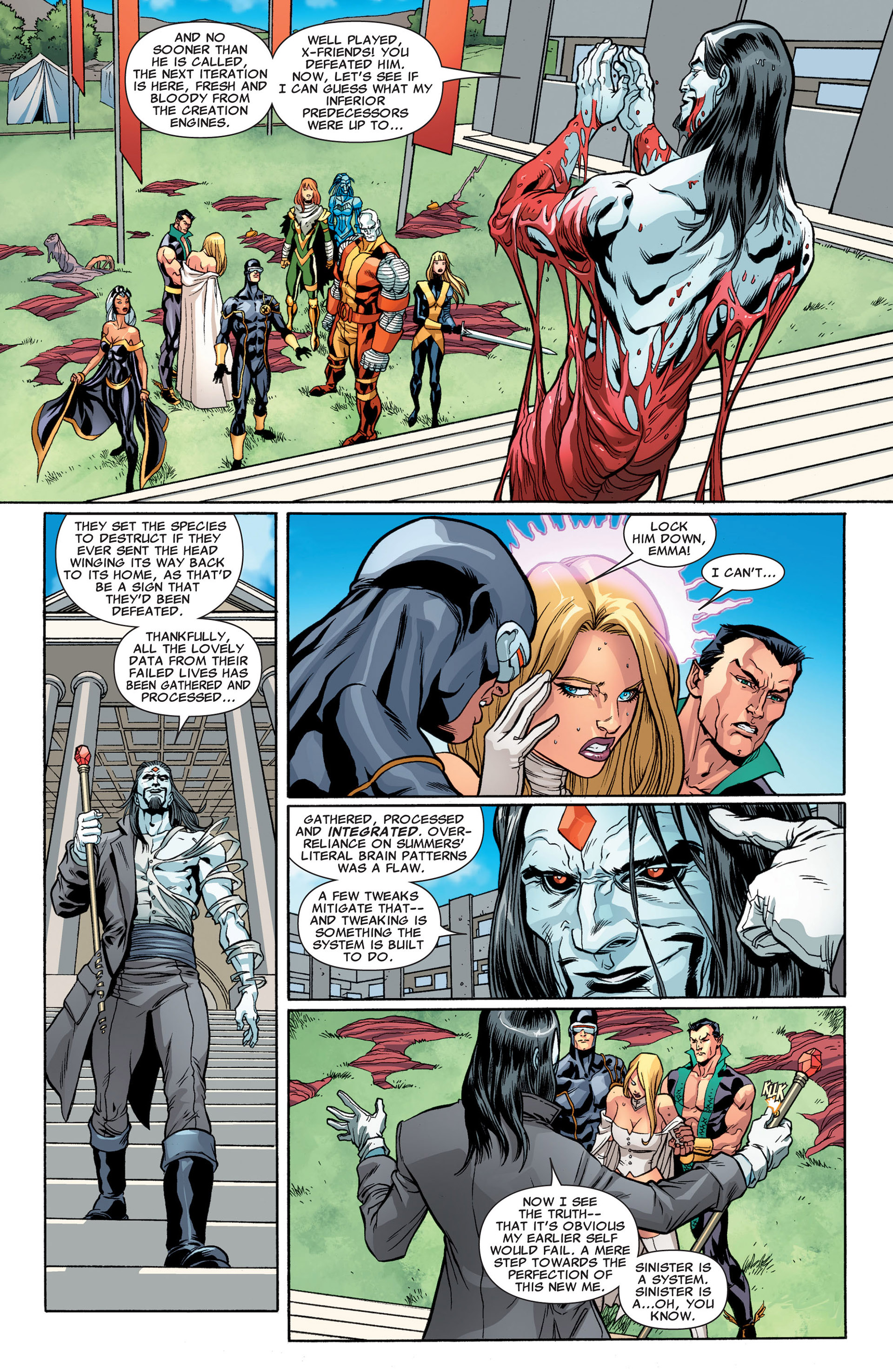 Read online Uncanny X-Men (2012) comic -  Issue #3 - 14