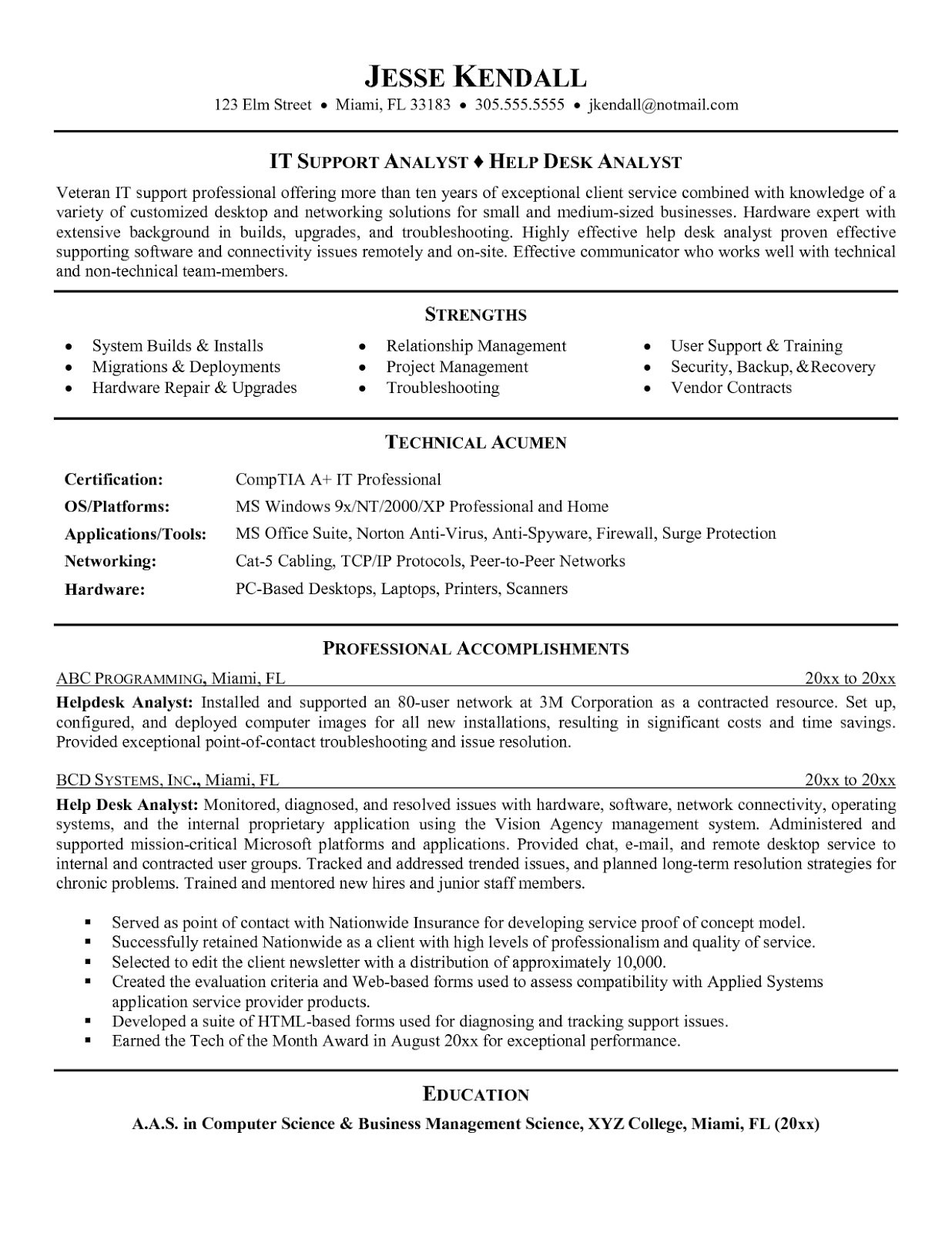 help desk resume sample hostgarcia images of help desk technician resume free letter sample download pinterest - Help With A Resume Free