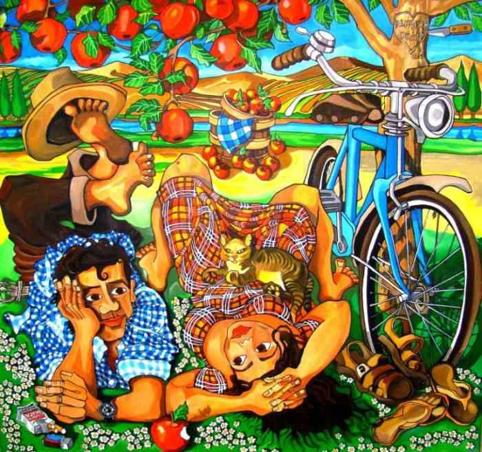 Красочный фольклорный мир. Leonardo Sepulveda