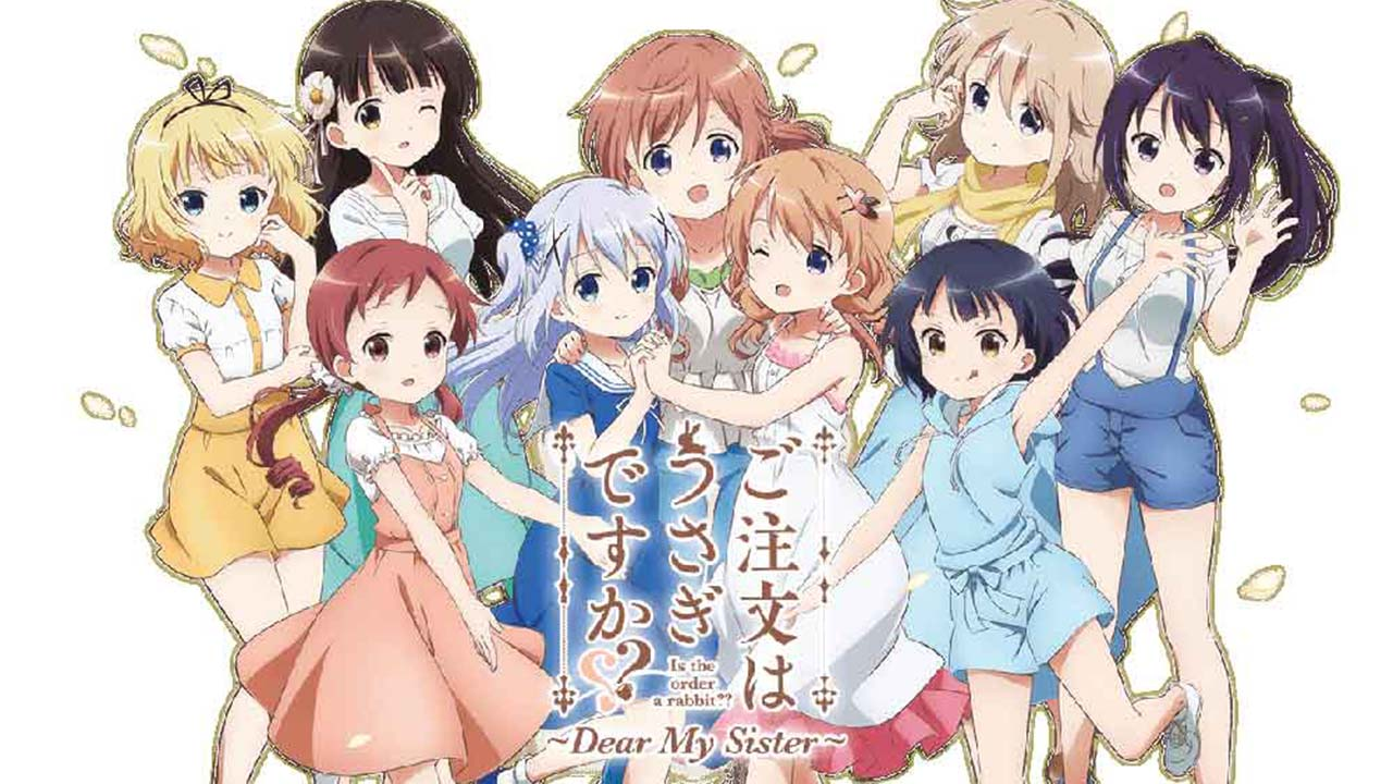 Is the Order a Rabbit?? Dear My Sister Subtitle Indonesia