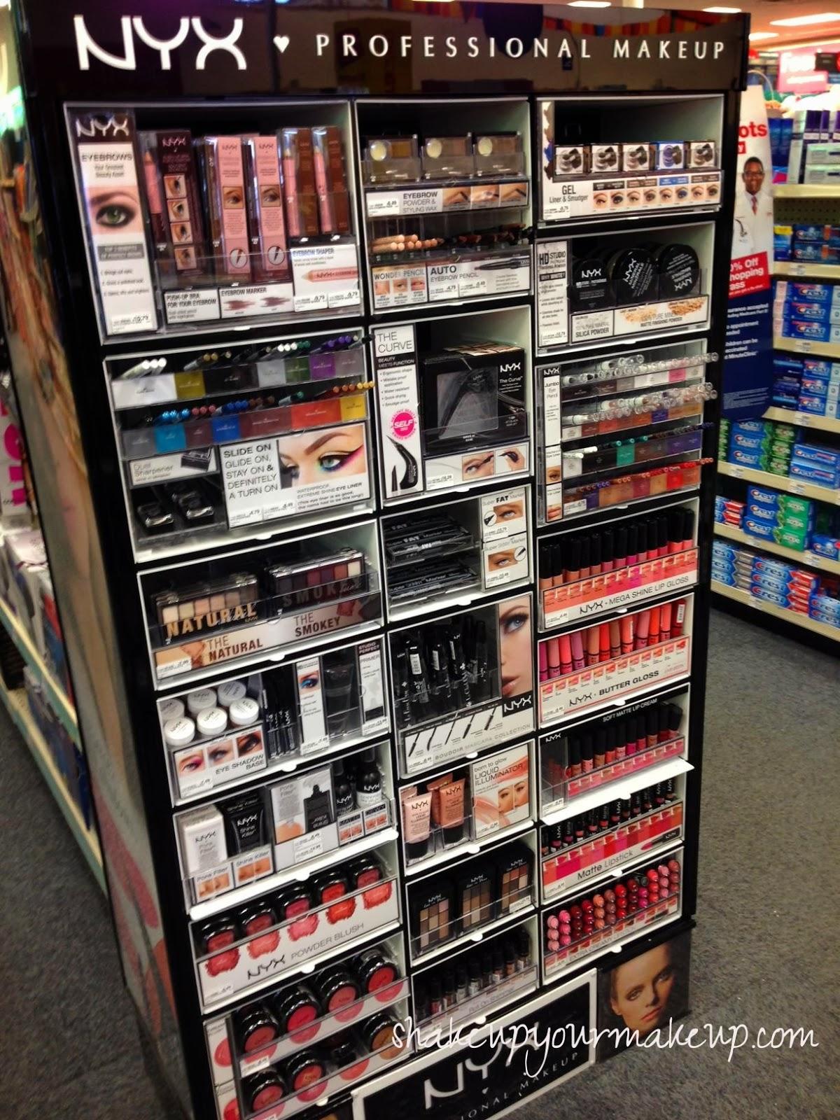 Spotted At Cvs Nyx Cosmetics Permanent Display Shakeup