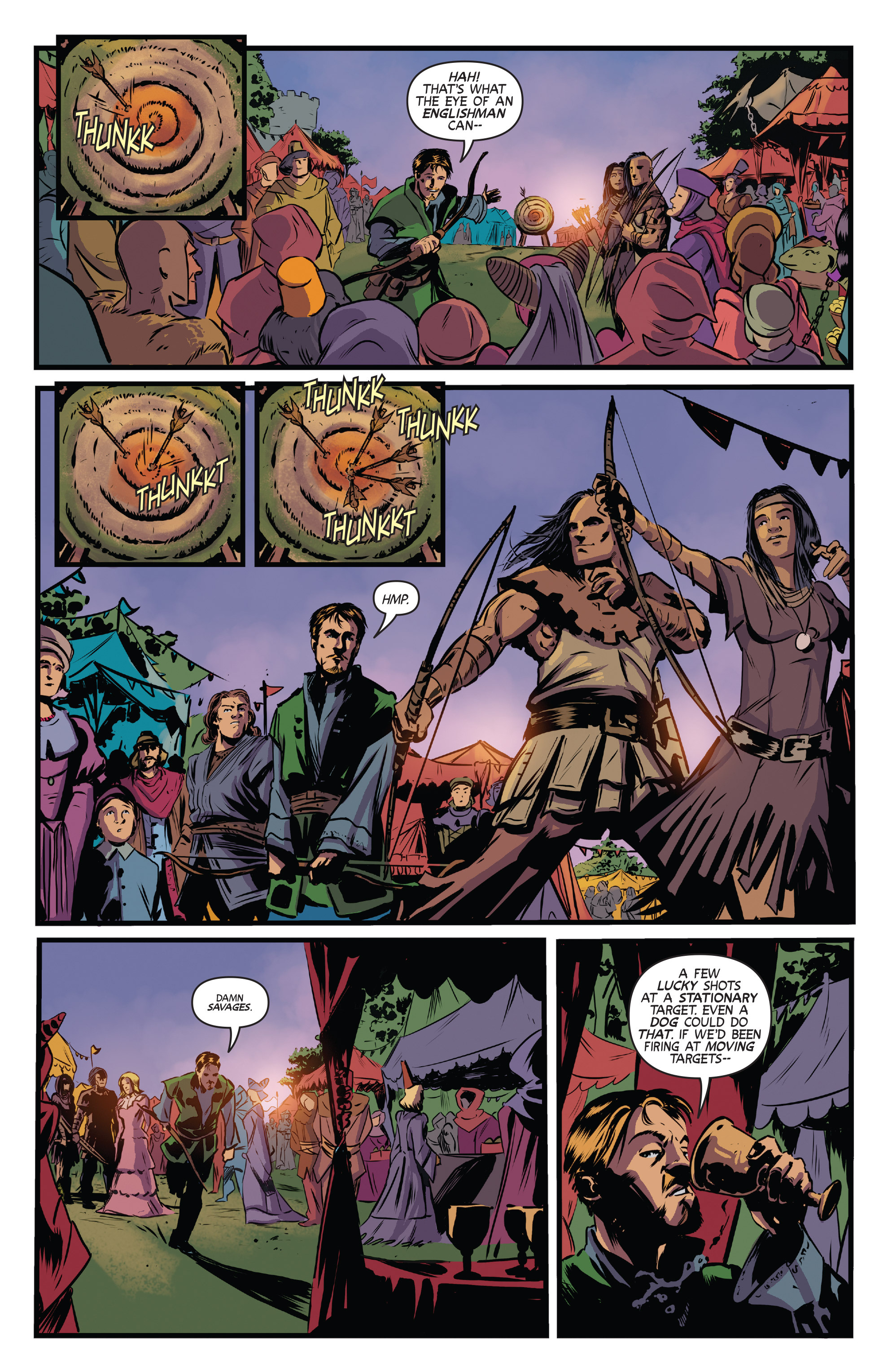 Read online Turok: Dinosaur Hunter (2014) comic -  Issue # _TPB 3 - 34