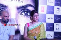 Bollywood Actress Raveena Tandon in Transparent Green Saree at Trailer Launch Of Film Maatr  0023.JPG