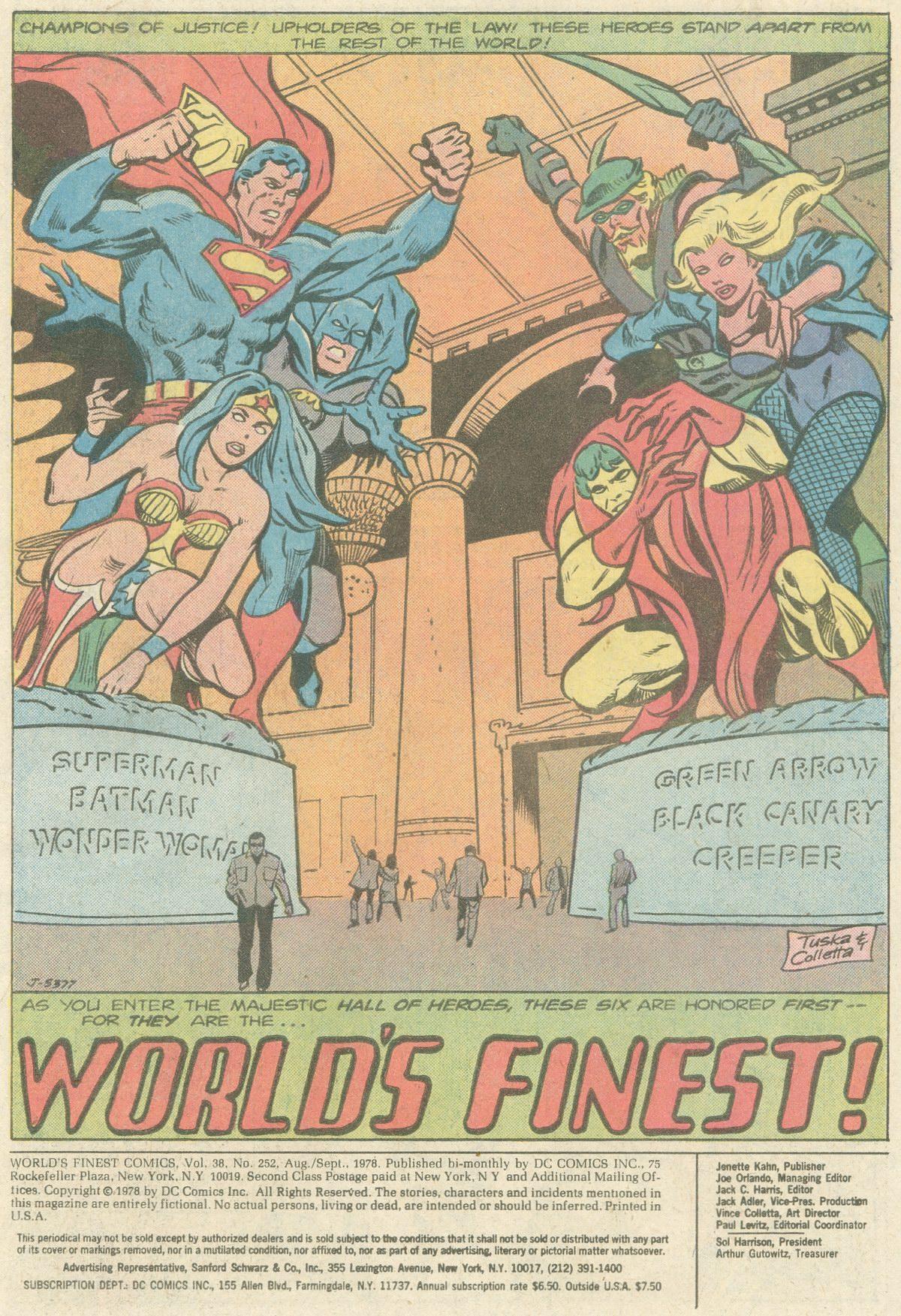 Read online World's Finest Comics comic -  Issue #252 - 3