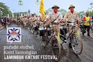 Rute Parade Onthel Vintage Festival Lamongan