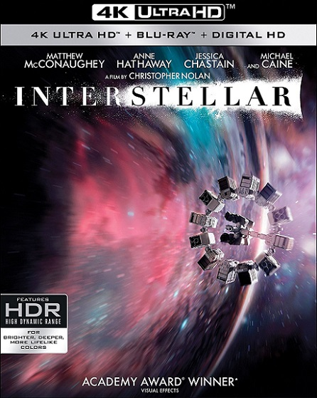 Interstellar IMAX 4K (2014) 2160p 4K UltraHD HDR BluRay REMUX 67GB mkv Dual Audio DTS-HD 5.1 ch