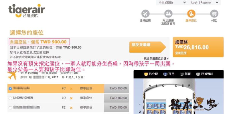 台灣虎航訂票教學完整流程|圖文詳解攻略|一秒學會訂廉航機票