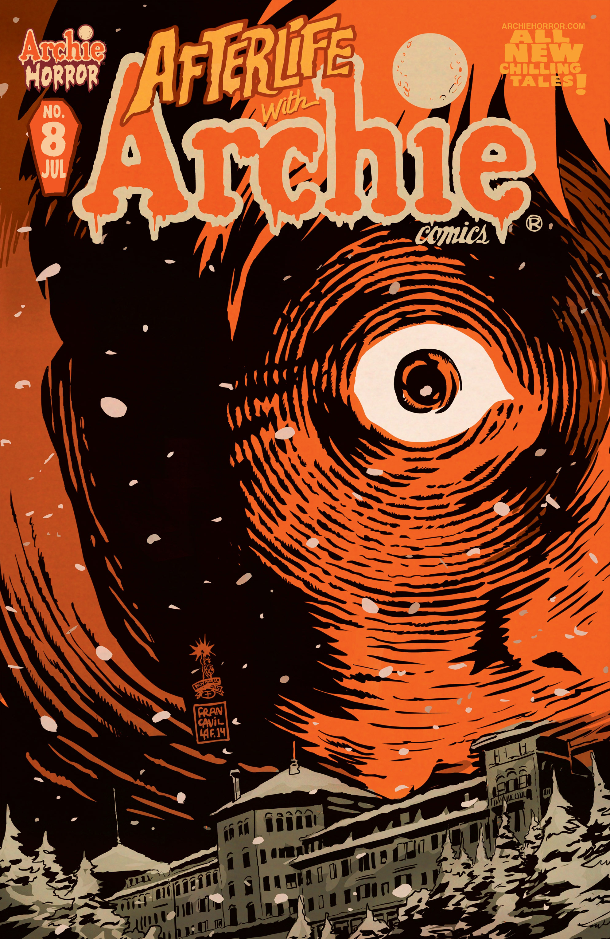 Read online Afterlife with Archie comic -  Issue #8 - 1