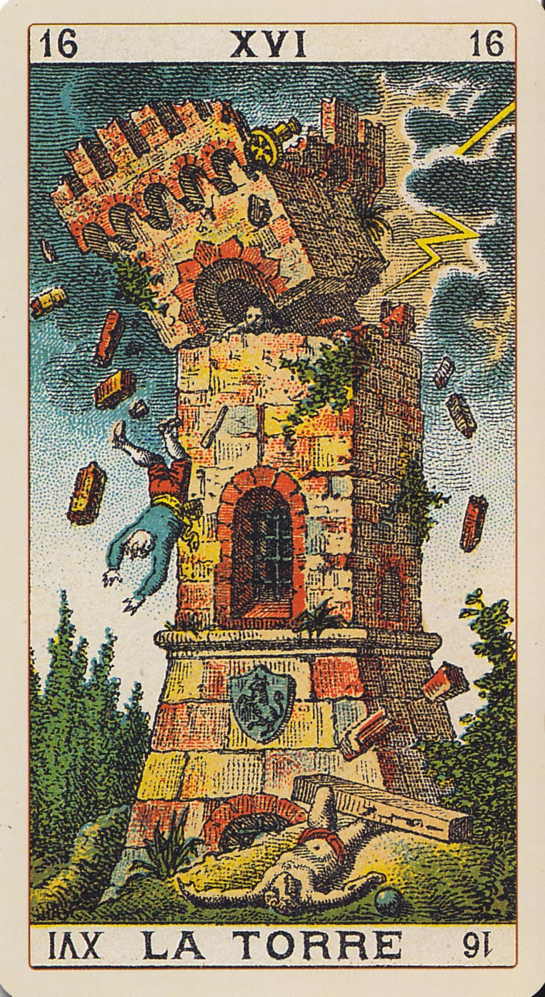 Rowan Tarot December 2012: Rowan Tarot: Tear It Down To Build It Up