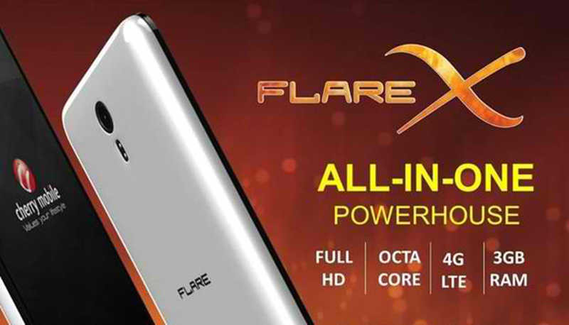 Cherry Mobile Flare X V2 at Lazada for PHP 3,999!