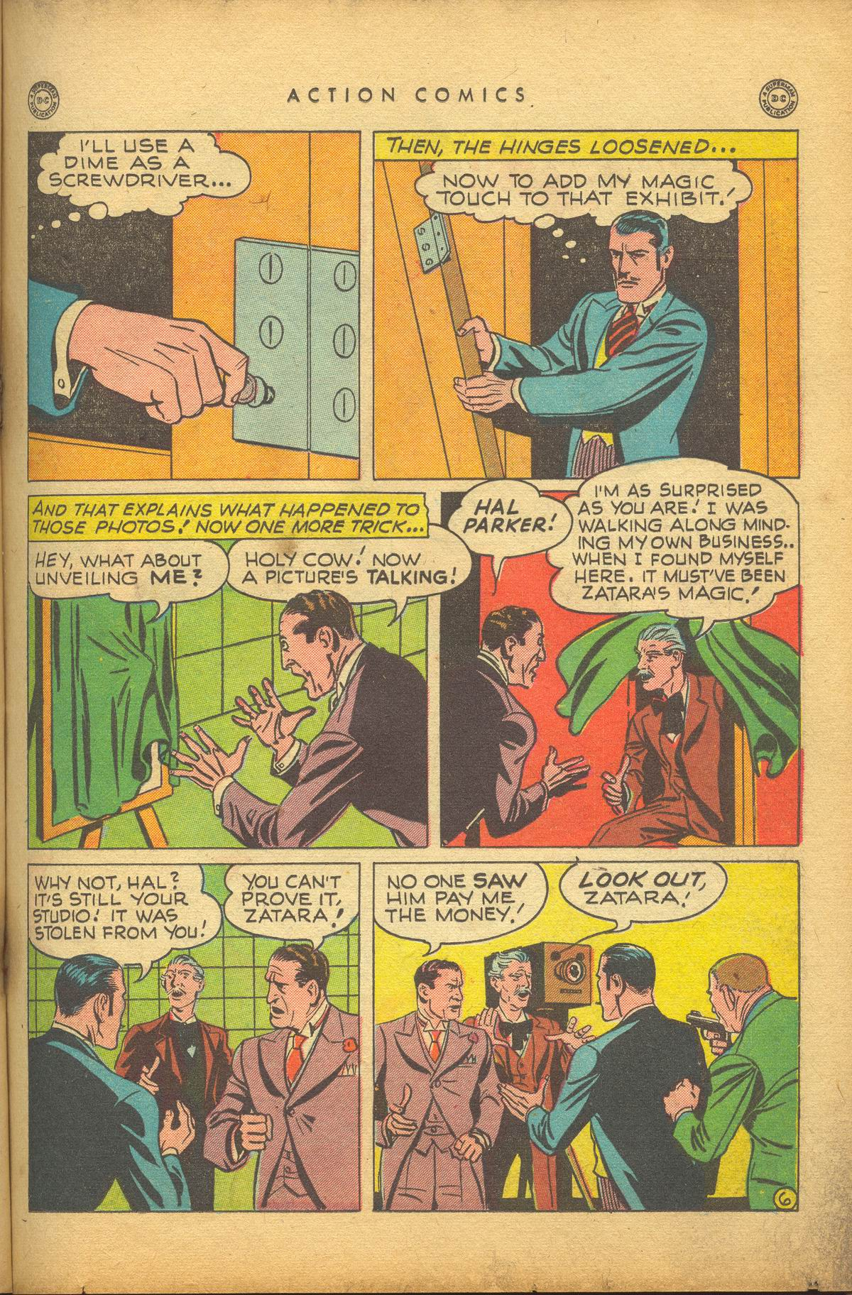 Read online Action Comics (1938) comic -  Issue #112 - 29