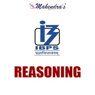 IBPS Clerk Quiz : Reasoning Ability | 14 - 11- 17