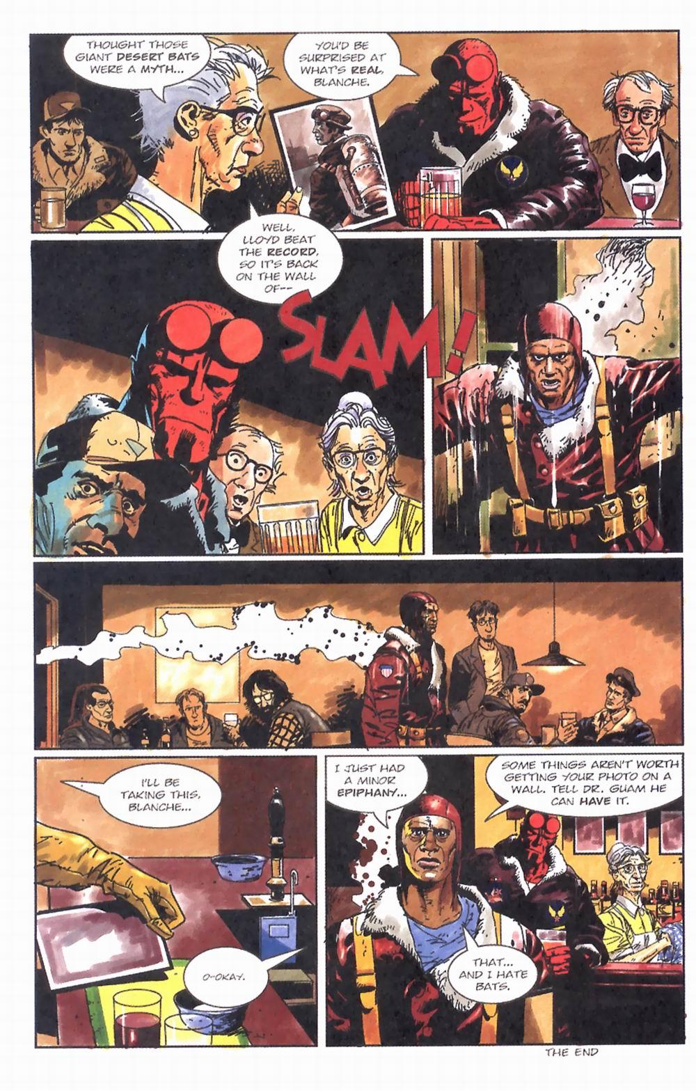Read online Hellboy: Weird Tales comic -  Issue #2 - 10