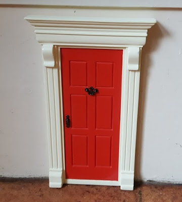 My miniature front door for Fairy or Elf  review