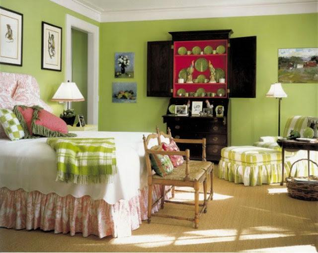 Cor Greenery na decoração