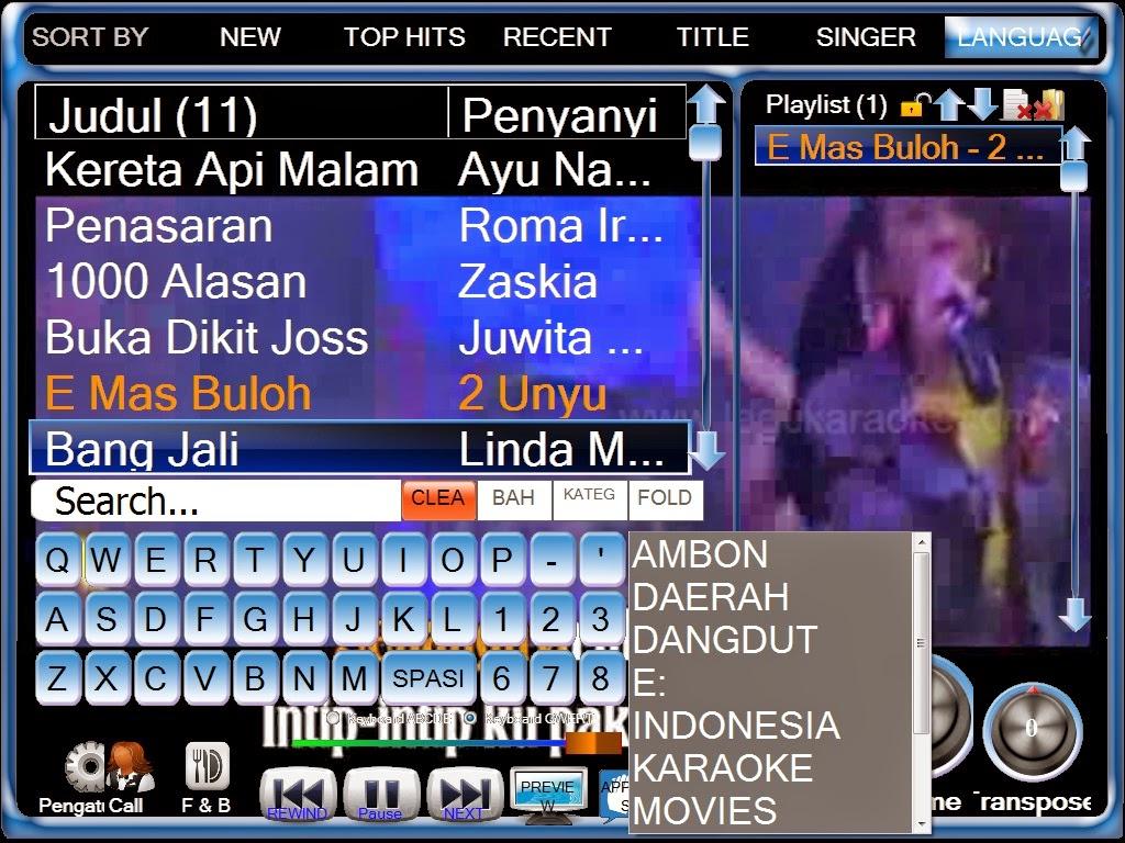 Silangit PC Karaoke/LangitKTV Versi 7