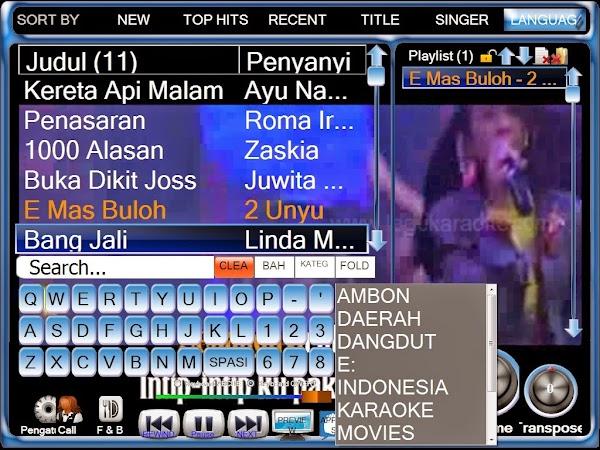 Silangit PC / LangitKTV Versi 7 - Karaoke
