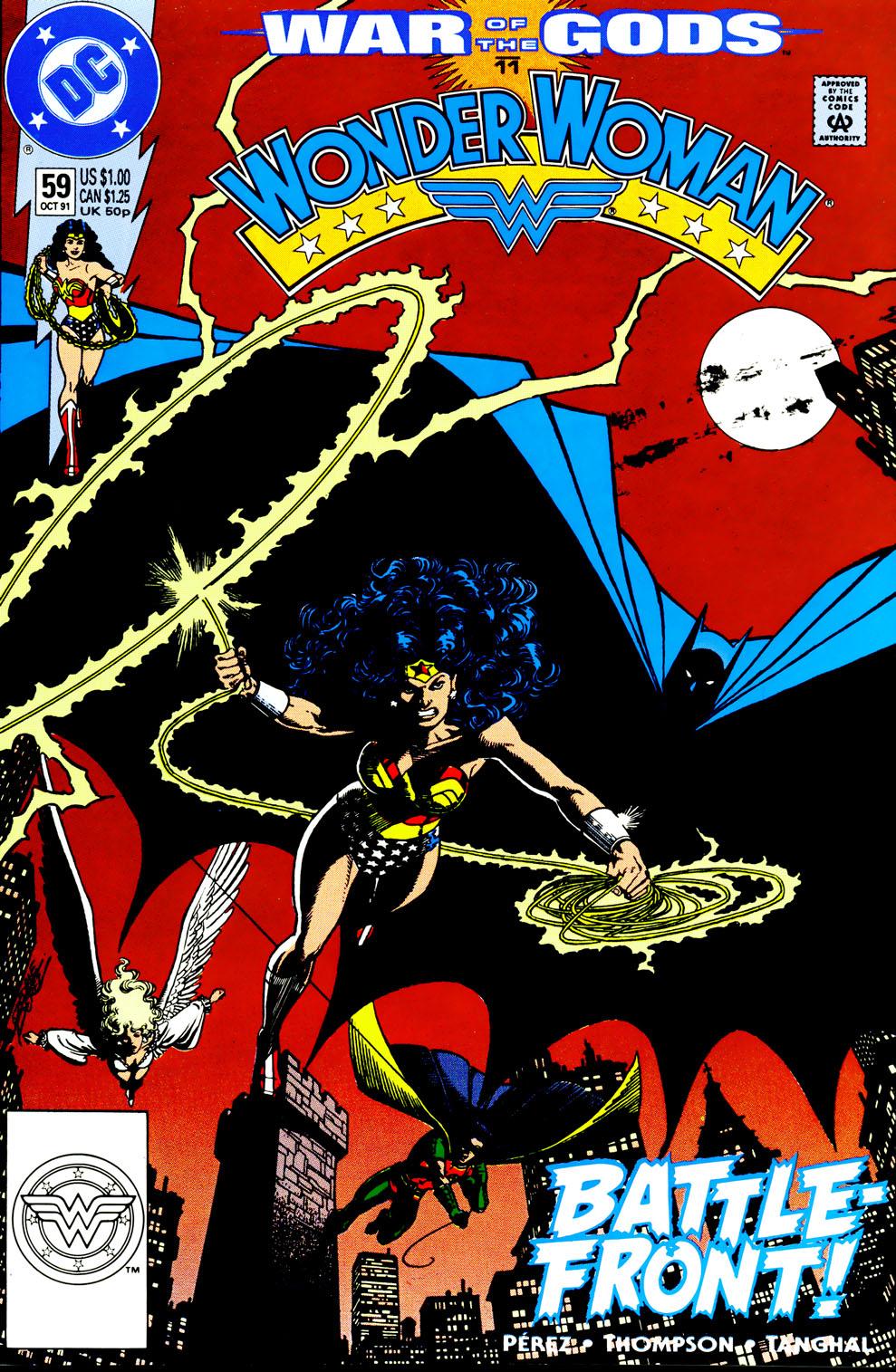 Read online Wonder Woman (1987) comic -  Issue #59 - 2