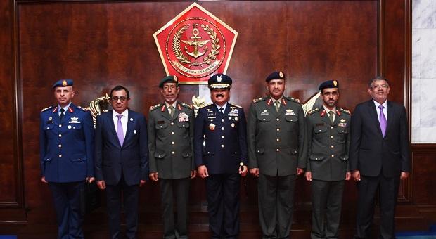 Panglima Angkatan Bersenjata Persatuan Emirat Arab Sambangi Mabes TNI