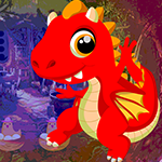 Red Fire Dragon Escape