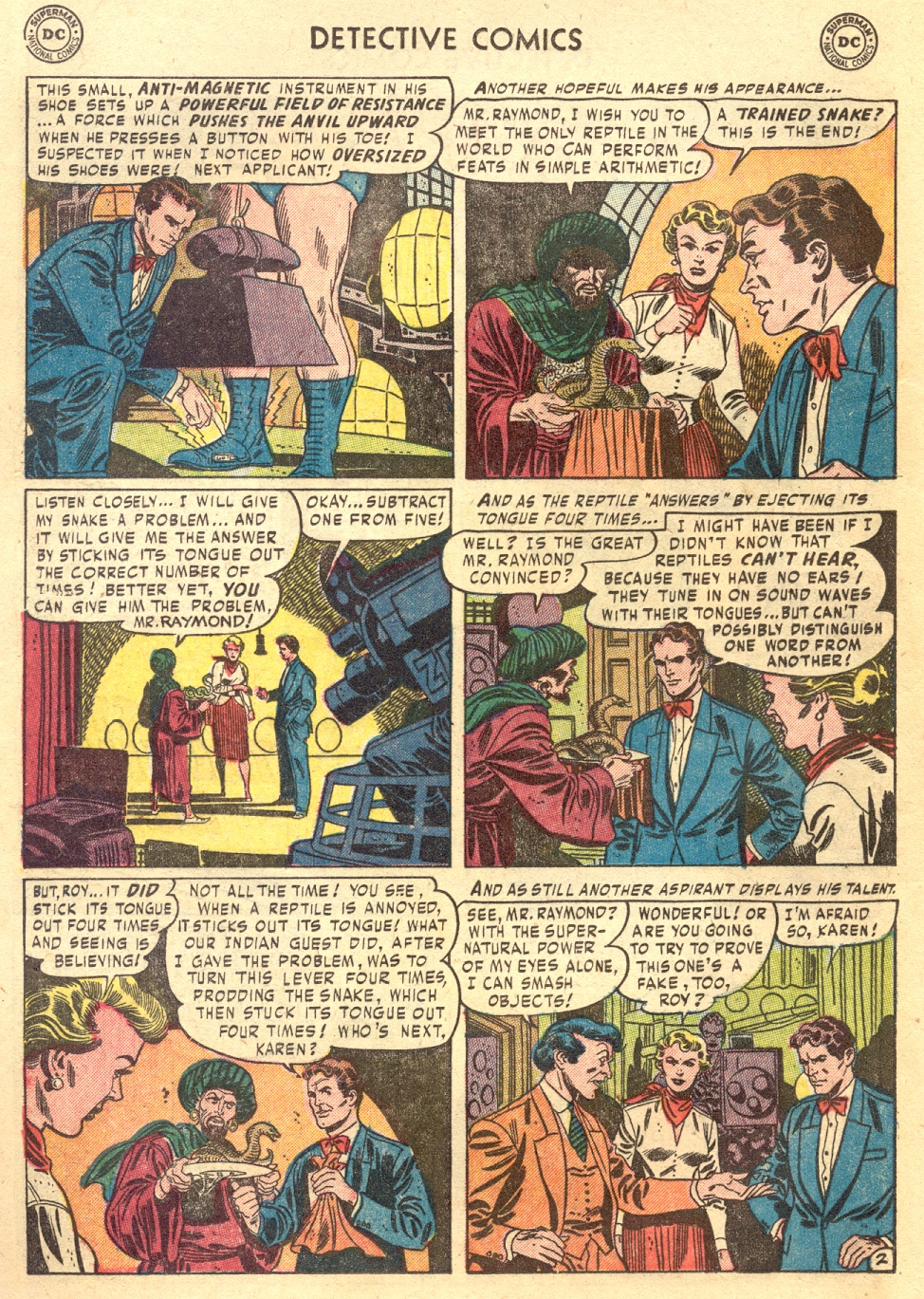 Read online Detective Comics (1937) comic -  Issue #187 - 18